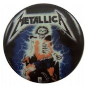 Metallica - 'Electric Chair' Button Badge